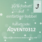 Online Adventkalender Türchen 3-10% Raba