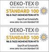OEko-Tex Zertifikat Standard 100-Kombi.j