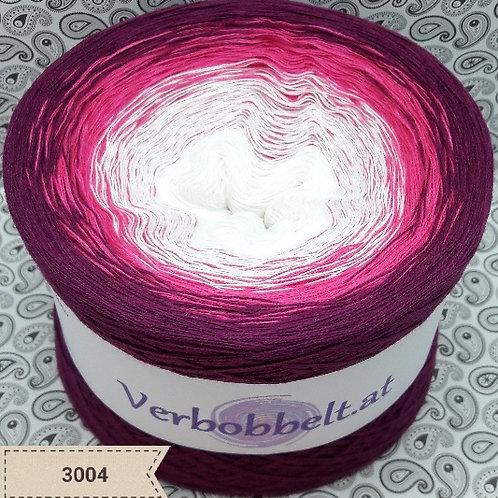 Bobbel kaufen   Bobbel Österreich   Verlaufsgarn weiss pink rot rosa