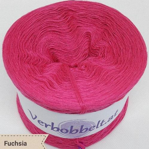 Bobbel unifarben fuchsia - Bobbel einfärbig fuchsia - Bobbel pink/rosa