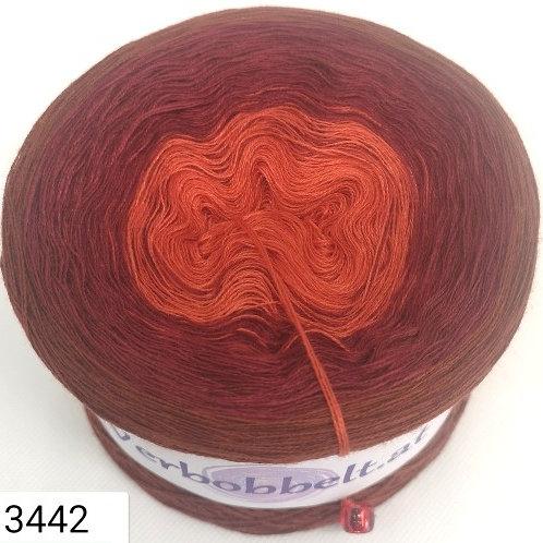Bobbel rostfarben-malagarot-kastanienbraun