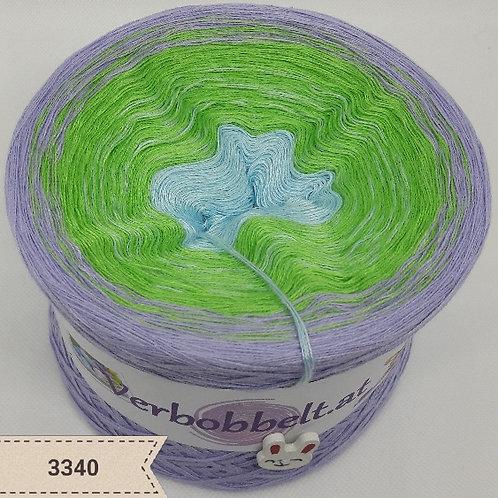 Frisches Grün für dein Häkel oder Strickwerk | Bobbel mit saftig frischem Farbverlauf