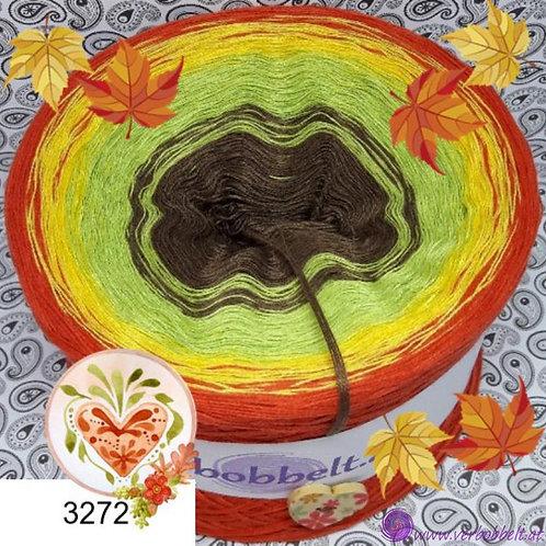 Der Herbstbobbel-stimmungsvolle Farben-fein gewickelt