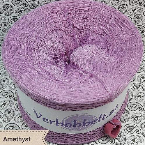 Bobbel einfärbig lila-violett | Bobbel unifarben amethyst