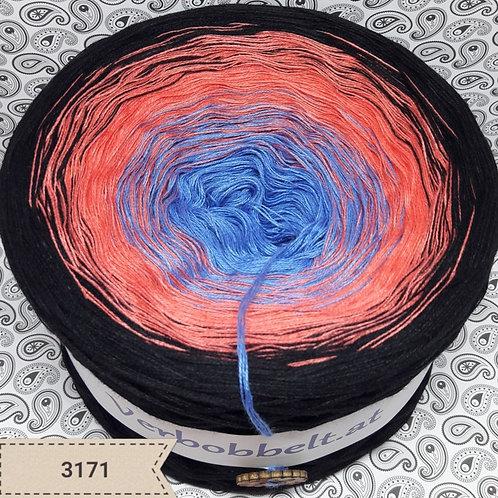 Farbverlaufswolle kaufen blau rosa orange schwarz