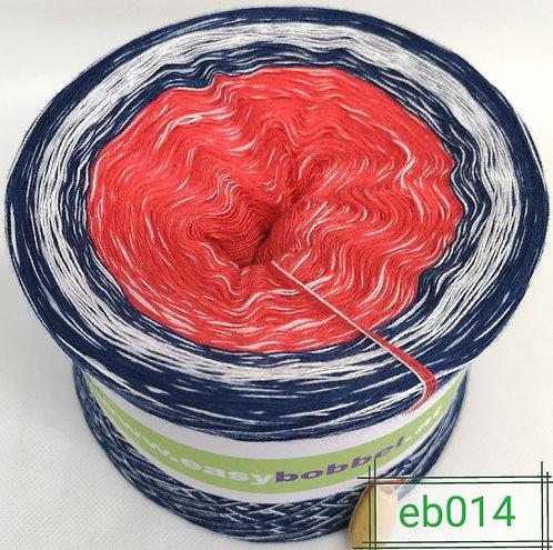 Bobbel mit sanftem Farbverlauf in maritimen Farben