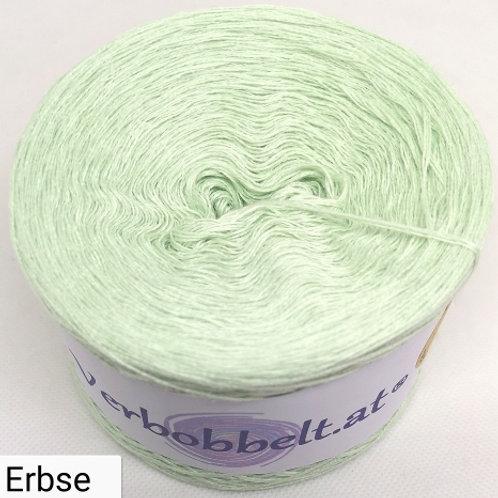 Bobbel einfärbig grün erbse-blassgrüner Farbton