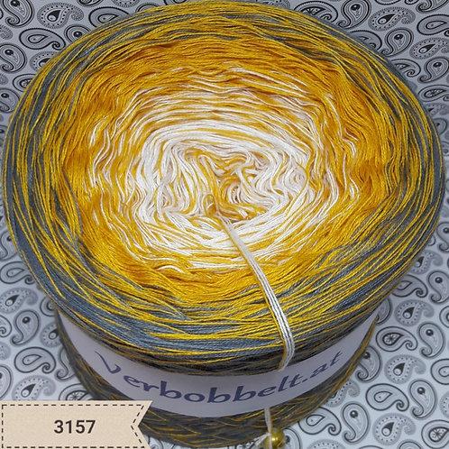 Verlaufsgarn kaufen häkeln weiss gelb grau