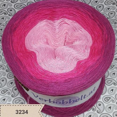 Bobbel pink Farbverlaufsgarn rosa pink beerenfarbig