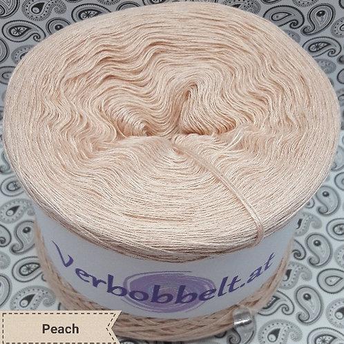 Bobbel unifarben | zum häkeln und stricken - Bobbel einfärbig pfirsichfarben
