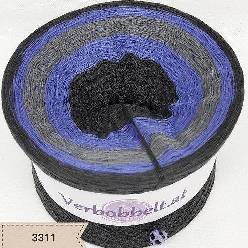 Bobbel 3-fädig 4-fädig 5-fädig 6-fädig kaufen | anthrazit - violett - grau