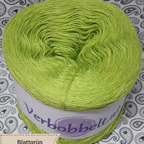 Bobbel unifarben einfärbig blattgrün grün Häkelgarn kaufen