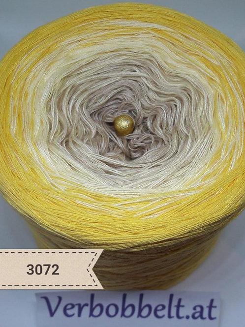 Bobbel Farbverlaufsgarn gelb braun günstig kaufen
