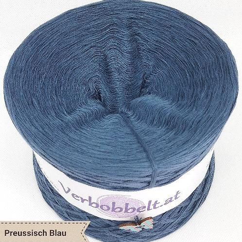 """Bobbel einfärbig """"Preussisch Blau"""""""