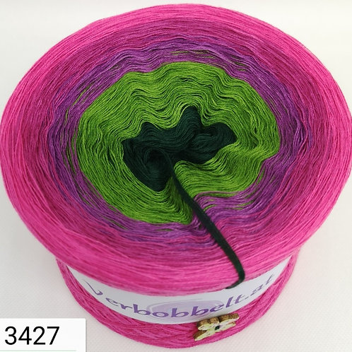 Aussergewöhnlich schöner Bobbel mit 5 Farben im Farbverlauf zum häkeln und stricken