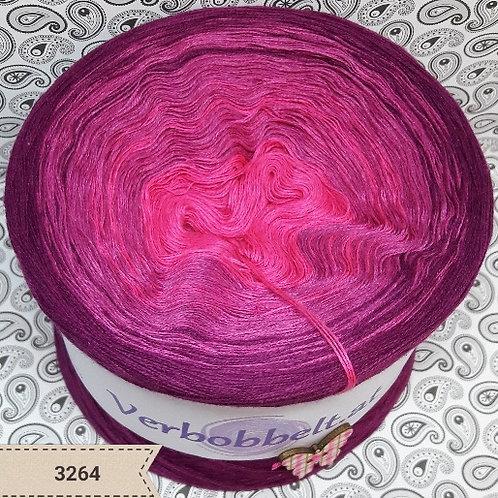 Farbverlaufsgarn Bobbel | rosa - pink - beerenfarben