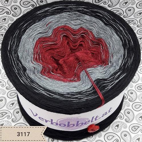 Bobbel Österreich | Bobbel häkeln | rot grau schwarz
