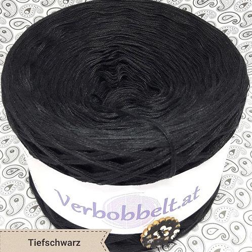 Bobbel schwarz unifarben