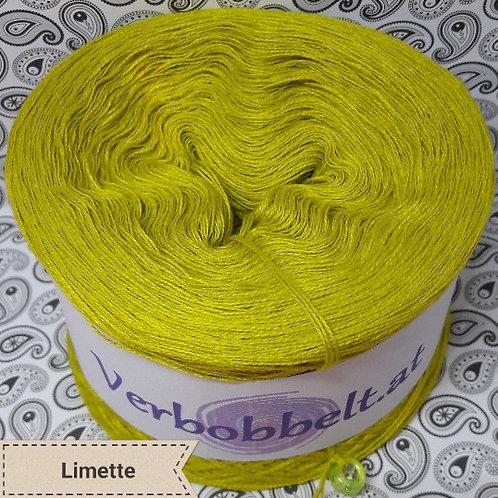 Bobbel einfärbig limette / Bobbel unifarben zum häkeln und stricken