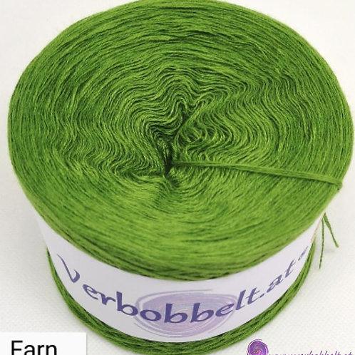 Bobbel einfärbig farngrün-fröhlich frischer Farbton