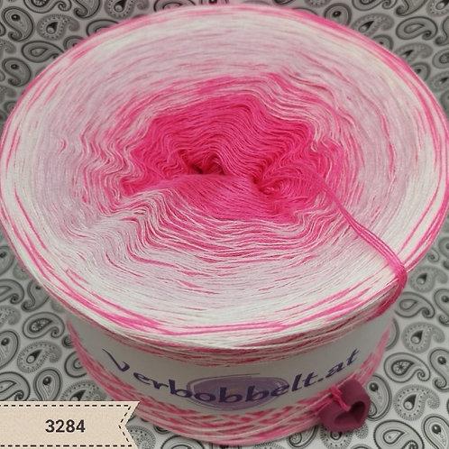 Bobbel candy-pink | Zuckerwatte | pink weiss | Farbverlaufsgarn pink