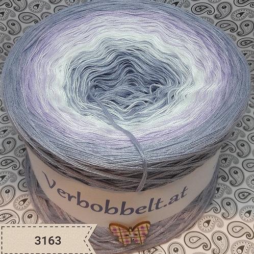 Bobbel Verlaufsgarn Österreich grau violett lila weiß