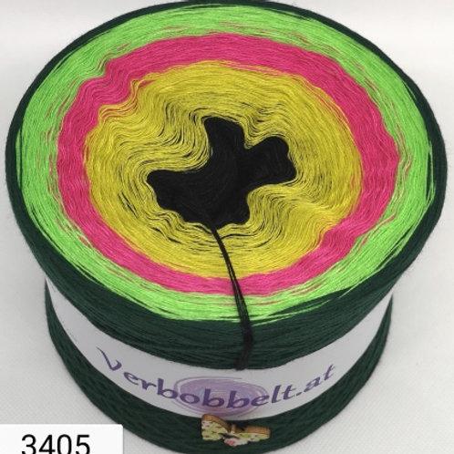 Bobbel mit fünf knalligen Farben im Verlauf - zum Sensationspreis kaufen
