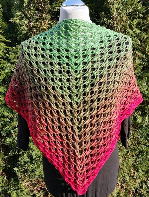 Dreieckstuch aus Bobbel häkeln