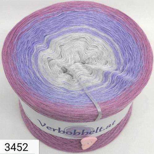 Farbverlaufsgarn aus Österreich in den Farben grau - lila - violett - günstig