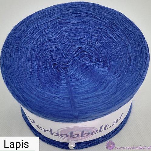 TVU Farbe Lapis - dunkles schillerndes Blau - einfärbiger Bobbel