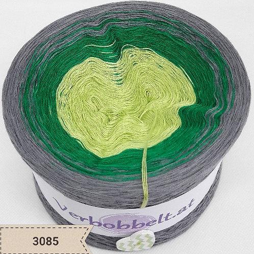 Günstiger Bobbel in den Farben grün und grau - farbverlaufsgarn zum besten Preis kaufen