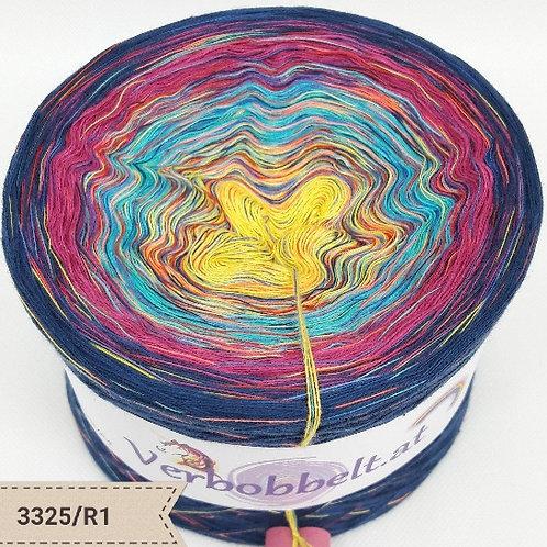 Bobbel Österreich | Farbenfroher Farbverlaufsgarn mit Regenbogengarn