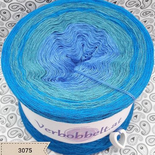 Bobbel häkeln | Bobbel blau | Farbverlaufsgarn günstig kaufen