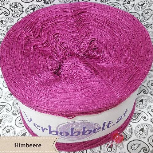 Bobbel einfärbig himbeere - Bobbel unifarben himbeere - Häkelgarn pink-rosa