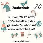 Online Adventkalender Türchen 20 - Zaube