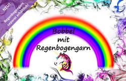 Bobbel mit Regenbogengarn