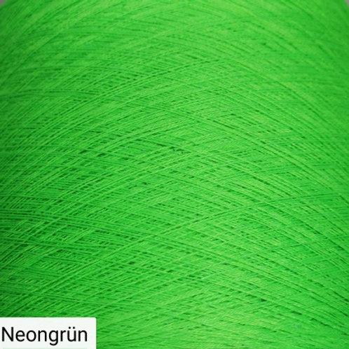 Neonfarben zum häkeln und stricken-Bobbel in Neonfarben neongrün