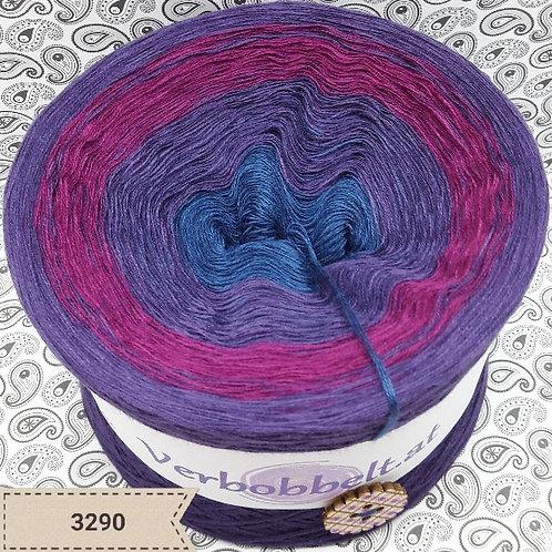 Bobbel kaufen | Farbverlaufsgarn Österreich | blau - lila - violett - beerenfarben