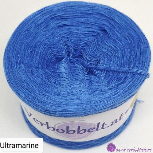 Bobbel blau einfärbig unifarben ultra marine
