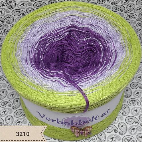 Farbverlaufsgarn oleander lavendel blattgrün günstig auf www.verbobbelt.at