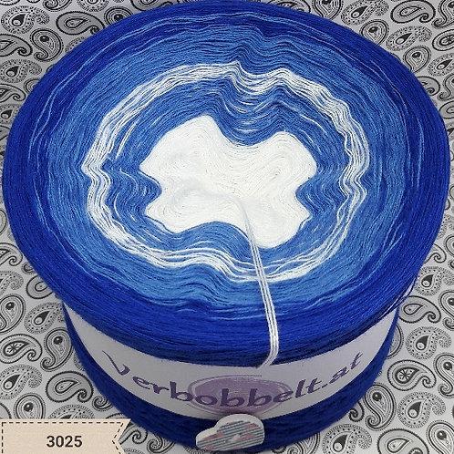 Bobbel Farbverlaufsgarn weiss blau günstig kaufen