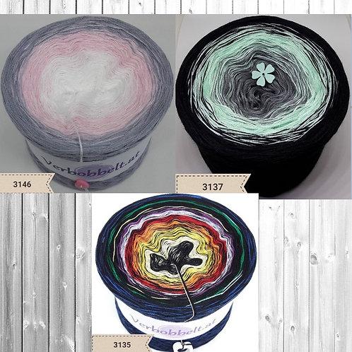 3 Bobbel im Set zum Aktionspreis kaufen - Für alle zum häkeln und stricken