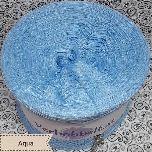 Bobbel hellblau himmelblau blau unifarben