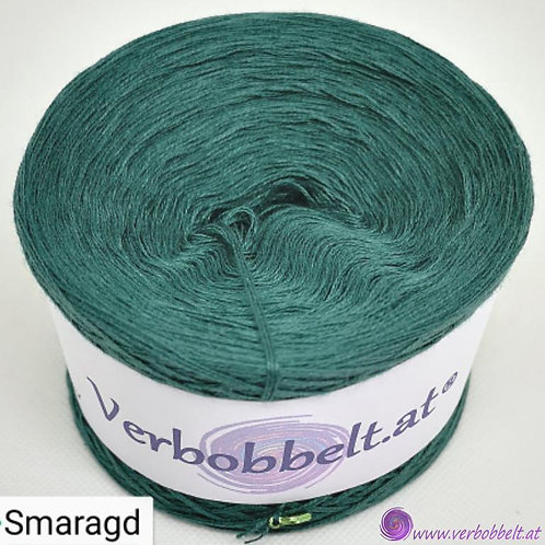 TVU Farbe Smaragdgrün-Bobbel einfärbig in edelgrüner Farbgebung