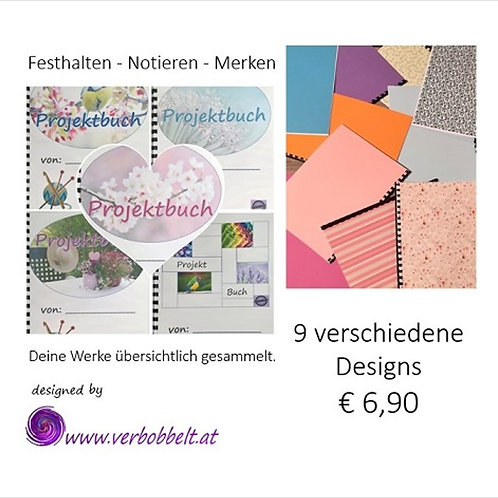 Dein Projektbuch - by verbobbelt.at