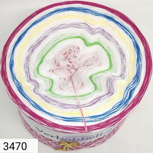 Frühlingstraum Bobbel - 10 Farben im Verlauf - dein Bobbel zum häkeln und stricken