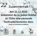 Online Adventkalender Türchen 22 - Eine