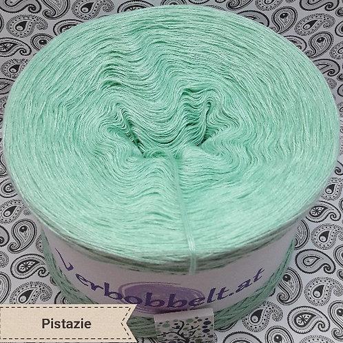 Bobbel unifarben pistazie - Bobbel einfärbig pistazie - Häkelgarn grün