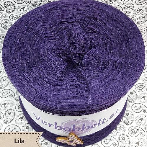 Bobbel einfärbig-Bobbel unifarben-Lila