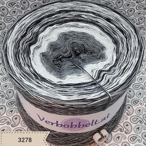 Bobbel - Nebel - Herbstbobbel - Grautöne - Mittelgrau - Hellgrau - Schwarz - Weiss